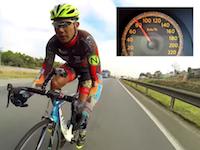 車のスリップについて時速145キロで走る自転車www早すぎワロタwww