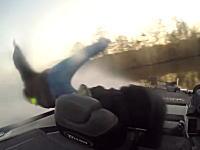 バスボートでの事故映像。付けてて良かったキルコードとライフジャケット。