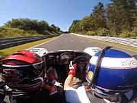 ニュルブルクリンクレコードを持つドライバーの助手席に乗る(°_°)Radical SR3