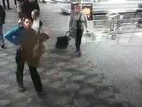 米フロリダの空港で起きた拳銃乱射事件で犯行時の映像が公開される。