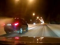 雪道で暴走165km/h!運転手と助手席の妊娠中の妻が死亡した事故のドラレコ。