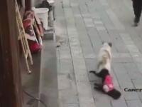 膣痙攣?中国のワンさんあの最中に拉致され辱めを受ける。これ生きてるか?(@_@;)