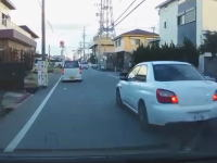 三重県松阪市の心の病気インプレッサまた現る。道を走る他人は全て敵。