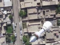 イラク軍がISISを真似てドローンを兵器化。40ミリグレネード弾を投下する。