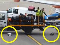 あなたの大切な荷物がこんな扱いをされているとしたら。イギリスの空港職員が酷い。