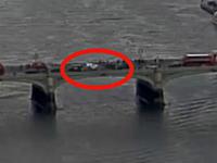 ロンドンテロ犯行の瞬間を記録していた監視カメラの映像が公開される。