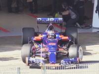 F12017シーズン開幕直前テストの様子。今年はどのマシンが早いのかな!?