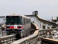 モノレールの線路切り替えポイントが面白い動画。大阪の関節可撓式分岐器。