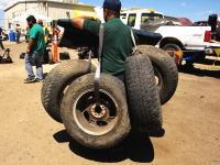 「自動車のパーツ取り放題」アメリカの解体屋さんのイベントが面白い。
