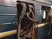 ロシアのサンクトペテルブルクで地下鉄が爆発し10人が死亡。負傷者は50人以上。