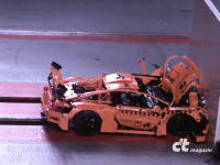 車体全体がクラッシャブルゾーン。ポルシェ911GT3 RSのクラッシュテストの映像。ただしレゴ(LEGO)