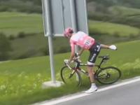サククルロードレース中に便意に襲われたら。ジロ・デ・イタリアでウンコ。