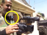 イラクでスナイパーに狙撃された戦場カメラマン。肩に付けていたGoProに命を救われる。
