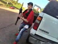 M16自動小銃は鈍器だった!?アメリカの警察ってすげえというかこええボディカム。
