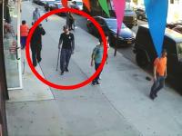 若者に突然襲われたおじいちゃん。謎スイッチで90歳の老人を襲う19歳の映像。
