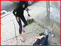 被害者を見に戻った女性が猛ダッシュで逃げ出すほどの惨状。この事故こわすぎ。
