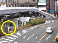 そんな所に隠れてるのか白バイさんwww台東区国道4号線の取り締まり入れ食いポイント。