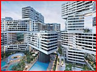 シンガポールの超奇抜なマンション「ザ・インターレース」で飛び降りが発生。