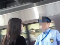 駅員が故意に女性を逃がしました。女専で在日らしき女とトラブルになりました。