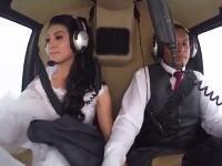 結婚式のサプライズが最悪の結果に。花嫁を乗せたヘリコプターが墜落して全員死亡。