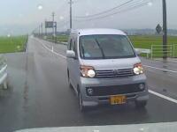 いってえ・・・。石川で撮影されたどんな運転してんだBBAに正面突されて新車のVOXYが廃車に車載。