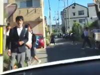 【続報】狭い通学路で暴走したDQN二人組に免停の中で最長の180日免停処分。