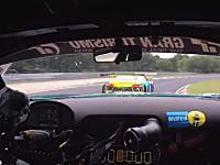 ニュルブルクリンクテールトゥーノーズ。AMG GT3 vs Audi R8