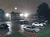 ハリケーン「ハーヴェイ」の豪雨により街が水没していく様子を記録したタイムラプス映像。