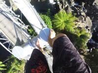 こええええええ(((゚Д゚)))橋の主塔によじ登るだけだと思ったのに玉ひゅんだった動画。