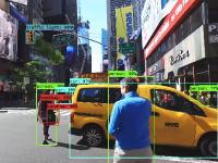 【技術】映像データから物体を検出し識別するシステムのデモンストレーション映像が面白い。