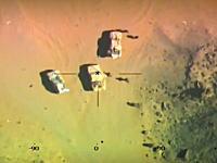 エジプト軍がISISの武装勢力を空爆して8人を殺害した時の映像が公開される。