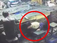 作業中に機械に巻き込まれる映像って怖いよな(@_@;)中国の怖い事故ライブリ。