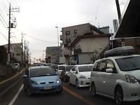 【神奈川】大迷惑ドライブレコーダー。渋滞を反対車線逆走で抜けようとしたヤツが。