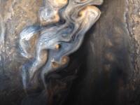 【宇宙】木星探査機ジュノーが撮影した木星の最接近画像がすごい。