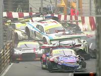 詰まり過ぎwwwマカオGPで起きたコースの半数以上が絡む大事故のビデオ。