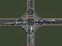 交差点の種類による交通渋滞のシミュレーションが面白い。2分30秒のは難易度高すぎるけども(´・_・`)