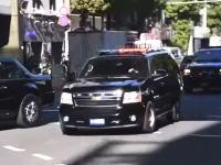 日本でシークレットサービスが護衛の緊急走行を行うとこうなる。