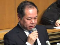 見逃し配信「はれのひ」破産手続き開始決定。篠崎洋一郎社長記者会見の様子。