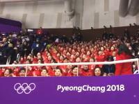 平昌オリンピックに現れた北朝鮮の「励まし組」の一糸乱れぬ応援が話題に。