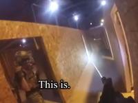 サバゲーでワロタ動画。フルオート禁止の室内戦で疑われるほど射撃の早かった14秒動画。