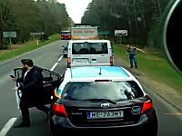 スカッとGJ動画。車から大きなゴミをポイ捨てしまくる野郎に制裁。