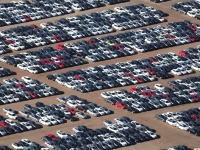 フォルクスワーゲンの墓地。ディーゼル不正問題で全米で買い戻された車の0.9%でこれ。