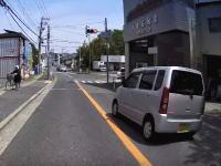 貝塚市で精神に異常のありそうな軽自動車が撮影されたドライブレコーダー映像。