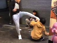 大阪DQN。道頓堀で撮影されたヤンキー傷害事件のビデオが1万イイネを突破。