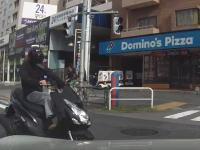 右折で信号無視の直進スクーターと事故ってしまったドライブレコーダー映像。