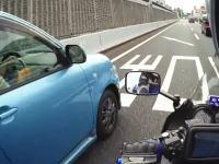 阪神高速環状線で無理する危険なシエンタの映像が話題になる。