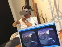 オレオレ動画。M字ヒロカズのOculus Go体験。VRおもしろすぎやろww