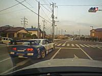 狭い道で対向車の為に減速していたら凄そうな車に煽られて暴言を吐かれた車載。