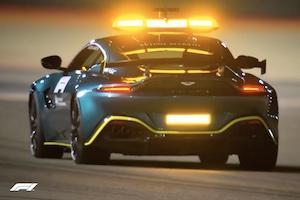 【F1】アストンマーティンのセーフティカー、バーレーンテストでデビュー(動画)
