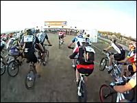 二人乗りのMTB?全員が二人乗りのマウンテンバイクで競うクロスカントリー